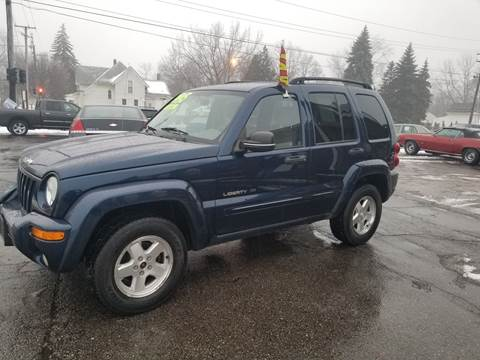 2003 Jeep Liberty for sale at DALE'S AUTO INC in Mt Clemens MI