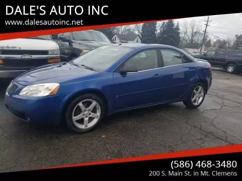 2007 Pontiac G6 for sale at DALE'S AUTO INC in Mt Clemens MI