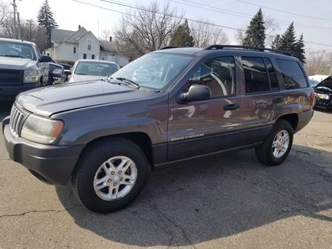 2004 Jeep Grand Cherokee for sale at DALE'S AUTO INC in Mt Clemens MI