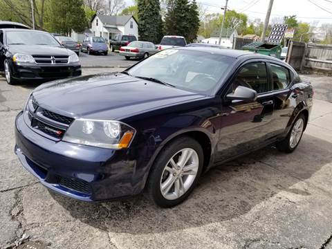 2014 Dodge Avenger for sale at DALE'S AUTO INC in Mt Clemens MI