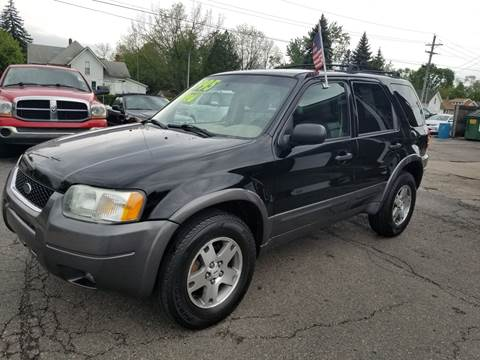 2004 Ford Escape for sale at DALE'S AUTO INC in Mt Clemens MI