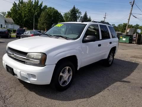 2007 Chevrolet TrailBlazer for sale at DALE'S AUTO INC in Mt Clemens MI