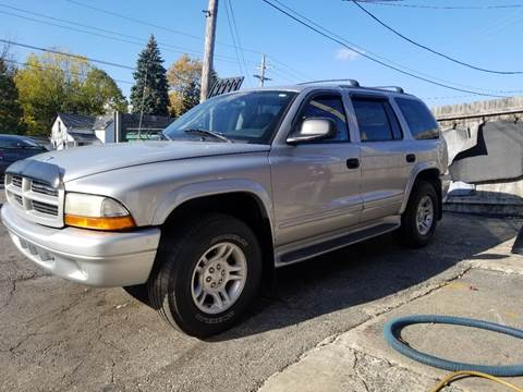 2003 Dodge Durango for sale at DALE'S AUTO INC in Mt Clemens MI