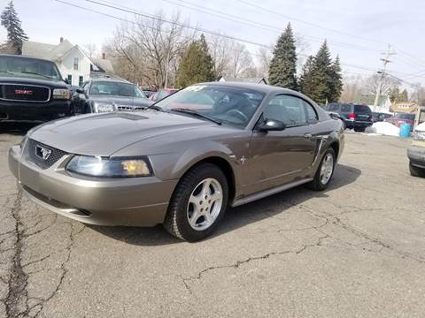 2002 Ford Mustang for sale at DALE'S AUTO INC in Mt Clemens MI