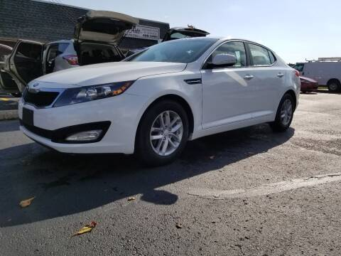 2013 Kia Optima for sale at DALE'S AUTO INC in Mt Clemens MI