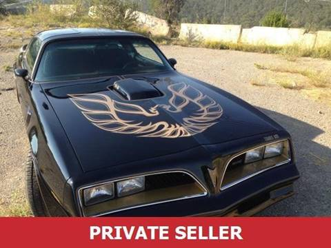 1978 Pontiac Trans Am for sale in Lakewood, CO