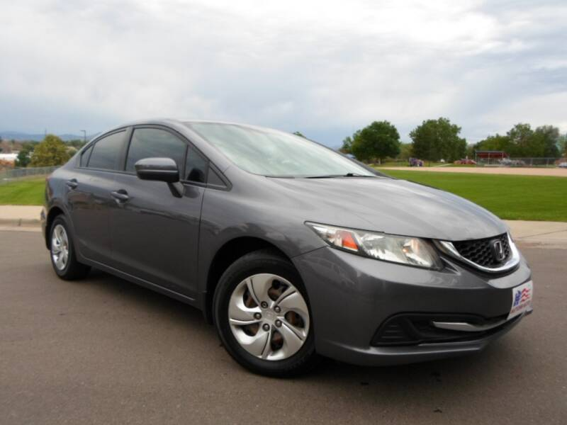 2015 Honda Civic LX 4dr Sedan CVT - Lakewood CO