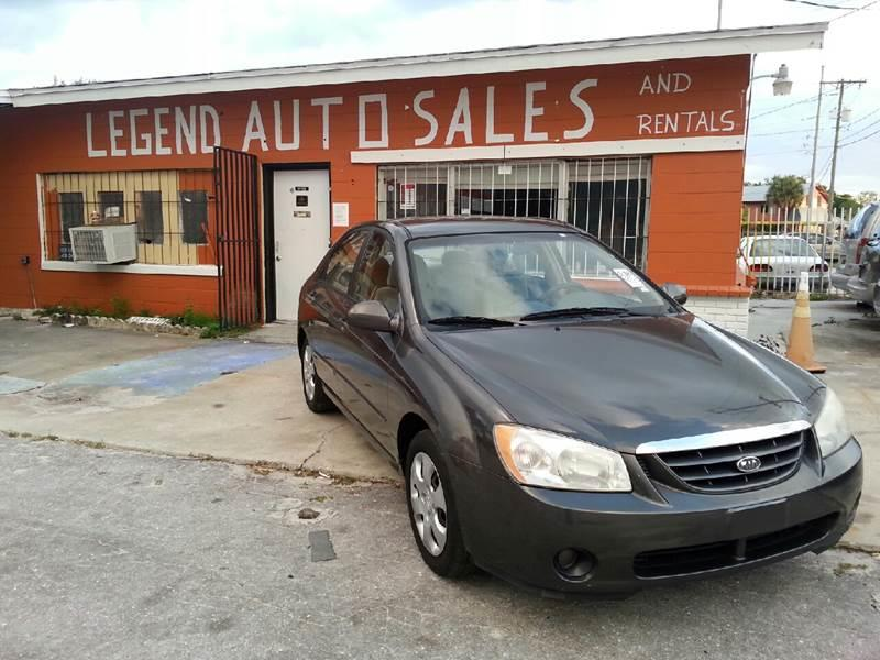 2006 Kia Spectra For Sale At Legend Auto Sales And Rentals Inc In Winter  Haven FL