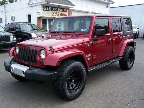 2012 Jeep Wrangler Unlimited for sale in Bensalem, PA
