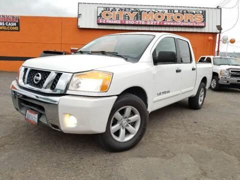 2010 Nissan Titan for sale at City Motors in Hayward CA