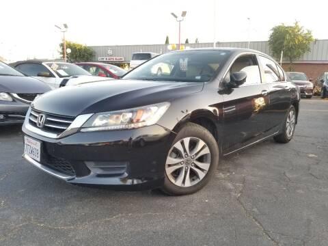 2014 Honda Accord LX for sale at City Motors in Hayward CA