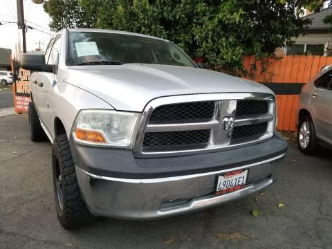 2010 Dodge Ram Pickup 1500 SLT for sale at City Motors in Hayward CA