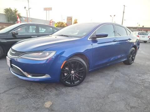 2015 Chrysler 200 for sale at City Motors in Hayward CA