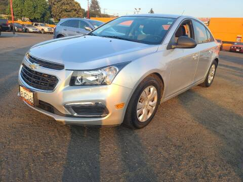 2016 Chevrolet Cruze Limited for sale at City Motors in Hayward CA