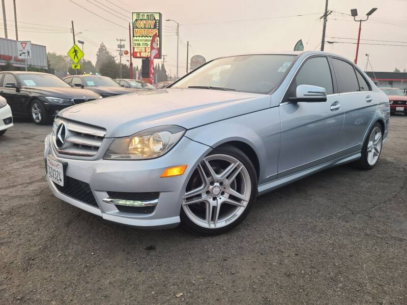 2013 Mercedes-Benz C-Class for sale at City Motors in Hayward CA