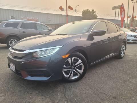2016 Honda Civic for sale at City Motors in Hayward CA