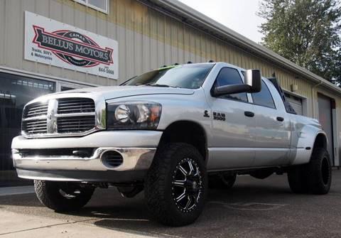 2007 Dodge Ram Pickup 3500 for sale at Bellus Motors LLC in Camas WA
