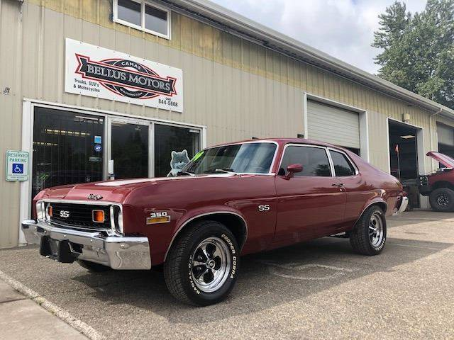 1974 Chevrolet Nova for sale at Bellus Motors LLC in Camas WA