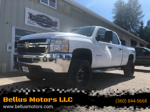 2011 Chevrolet Silverado 2500HD for sale at Bellus Motors LLC in Camas WA