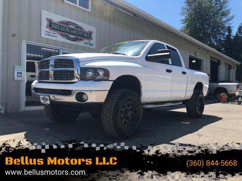 2008 Dodge Ram Pickup 3500 for sale at Bellus Motors LLC in Camas WA