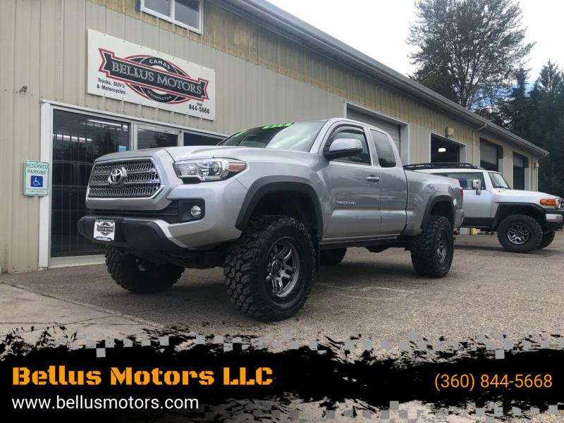 2017 Toyota Tacoma for sale at Bellus Motors LLC in Camas WA