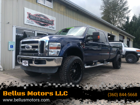 2008 Ford F-250 Super Duty for sale at Bellus Motors LLC in Camas WA