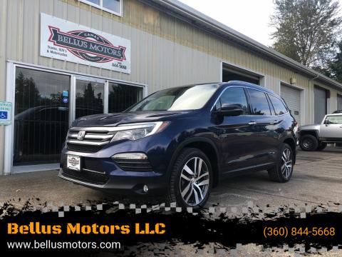 2016 Honda Pilot for sale at Bellus Motors LLC in Camas WA