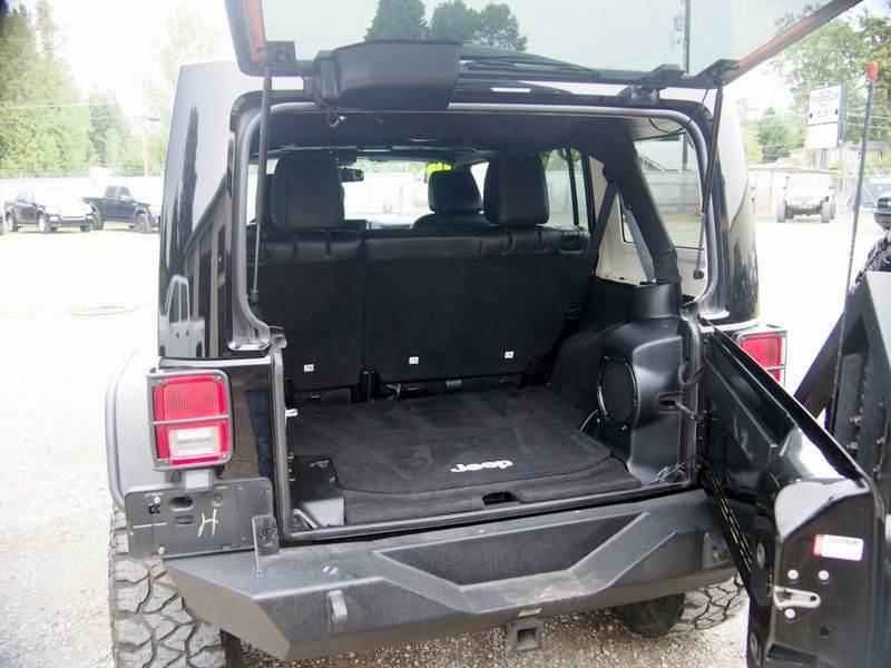 2014 jeep wrangler unlimited rubicon 4x4 4dr suv in camas for Bellus motors camas washington