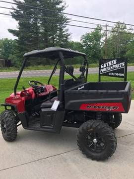 2011 Polaris Ranger XP 800 for sale at Gaither Powersports & Trailer Sales in Linton IN