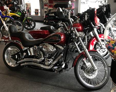 2007 Harley Davidson FXTS/C Softail for sale at Gaither Powersports & Trailer Sales in Linton IN