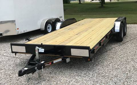 2018 Heartland 7K  carhauler 20' (18+2) for sale at Gaither Powersports & Trailer Sales in Linton IN