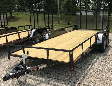 """2018 Heartland 82""""x18' tandem utility for sale at Gaither Powersports & Trailer Sales in Linton IN"""