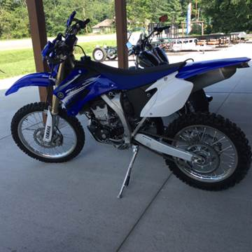 2012 Yamaha WR250F for sale at Gaither Powersports & Trailer Sales in Linton IN