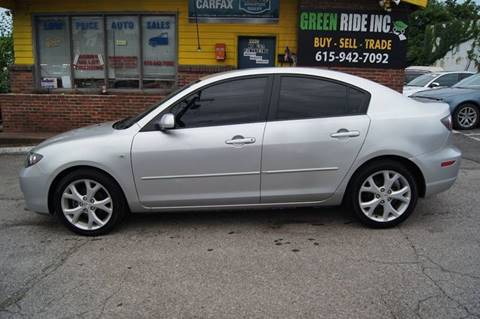 2009 Mazda MAZDA3 for sale at Green Ride Inc in Nashville TN