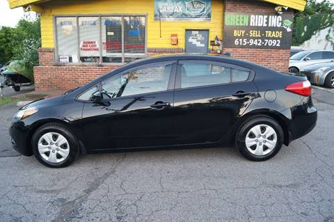 2015 Kia Forte for sale at Green Ride Inc in Nashville TN
