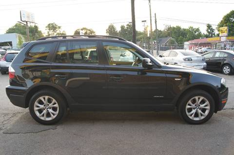2010 BMW X3 for sale at Green Ride Inc in Nashville TN