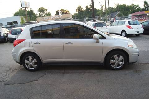 2008 Nissan Versa for sale at Green Ride Inc in Nashville TN