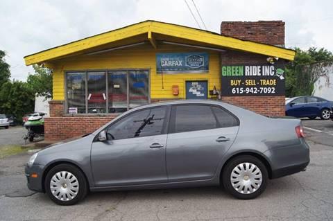 2009 Volkswagen Jetta for sale at Green Ride Inc in Nashville TN