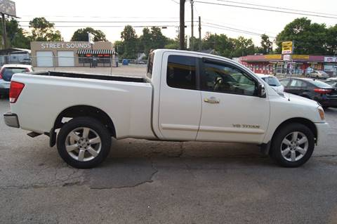 2005 Nissan Titan for sale at Green Ride Inc in Nashville TN