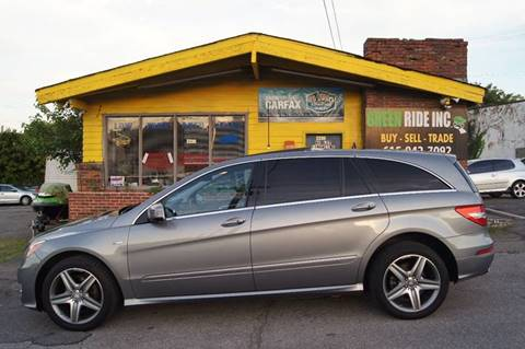 2012 Mercedes-Benz R-Class for sale at Green Ride Inc in Nashville TN