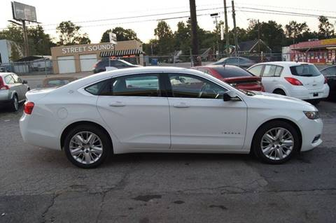 2015 Chevrolet Impala for sale at Green Ride Inc in Nashville TN