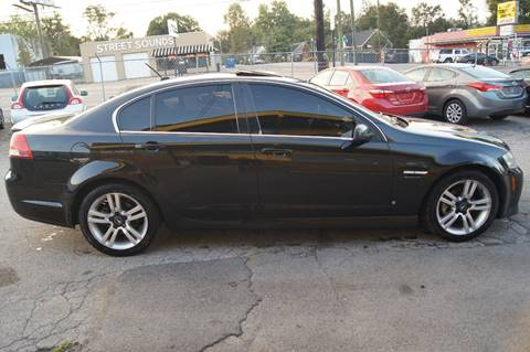 2009 Pontiac G8 for sale at Green Ride Inc in Nashville TN