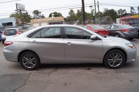 2016 Toyota Camry for sale at Green Ride Inc in Nashville TN