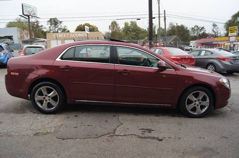 2011 Chevrolet Malibu for sale at Green Ride Inc in Nashville TN