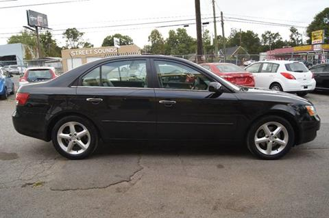 2006 Hyundai Sonata for sale at Green Ride Inc in Nashville TN