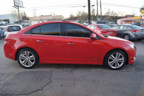 2014 Chevrolet Cruze for sale at Green Ride Inc in Nashville TN