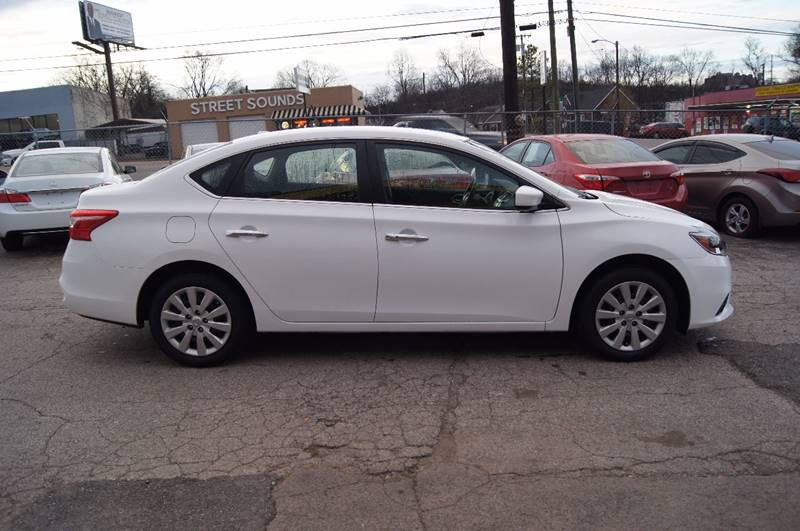 2016 Nissan Sentra for sale at Green Ride Inc in Nashville TN