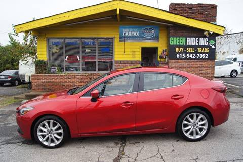 2015 Mazda MAZDA3 for sale at Green Ride Inc in Nashville TN