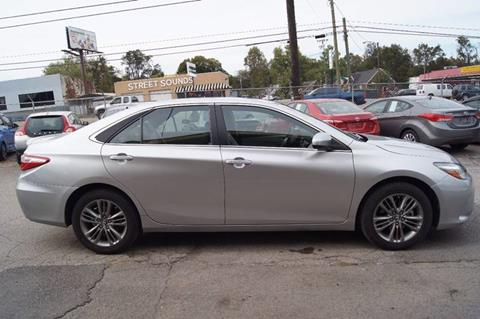2017 Toyota Camry for sale at Green Ride Inc in Nashville TN