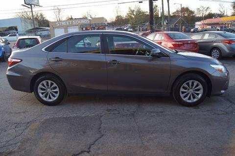2015 Toyota Camry for sale at Green Ride Inc in Nashville TN